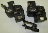 3pcs-(2) WW2 Sperry K-13 Compensating Sights-1 Camera Lens