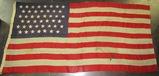 45 Star U.S. Flag-Multi Piece Construction.