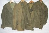 4pcs-WW2 U.S. M43 Field Jackets