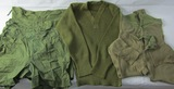 6pcs-WW2 Period U.S. Soldier Boxer Shorts/Long Johns & V-Neck Sweater