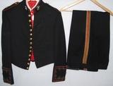 WW2/Early Vietnam Period USMC Officer's Mess Dress Jacket W/Pants-Lt. Colonel