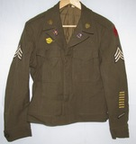 WW2 5th Infantry Division/2nd Inf. Rgt. Named Ike Jacket W/DI's