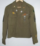 WW2 91st Inf. Division/361st Inf. Regt. Ike Jacket W/Laundry Marks-DI's-Buckle