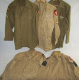 5pcs-WW2 Period U.S. Airborne/Paratrooper Shirts
