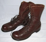 WW2 Experimental? US Army Airborne Jump Boots Size 10-1/2