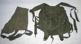 2pcs-Vietnam War Period M16 Ammo Clip Bandoleer-Rare X Frame Arvin Assault Pack