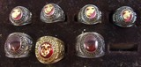 7pcs-USMC Class Rings-Various Sizes
