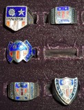 5pcs-WW2 United Statesd China-Burma-India Theater Souvenir Rings