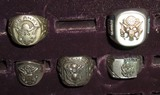 5pcs-WWII U.S. Army Soldier Rings