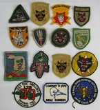 15pcs-Vieltnam War Period Patches