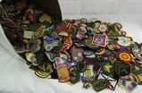 Huge Lot 1600+ Misc. WW2/Korea/Vietnam Era U.S. Patches