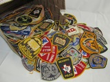 400+ Count Misc. Police And Security Companies Shoulder Patches.