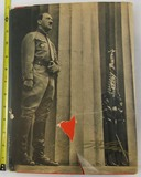 1936 Adolf Hitler Cigarette Card Photo Book W/Dust Jacket