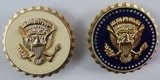 2pcs-U.S. Military Assigned To The Service Of The President & Vice President Badges-Numbered
