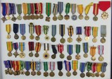 62pcs-Misc U.S. WW2-Vietnam-Later Miniature Formal Dress Medals