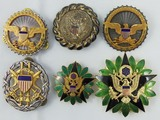 6pcs-Scarce U.S. Military DOD-General Staff-Joint Chiefs Of Staff badges