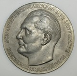 Scarce WW2 Herman Goring Luftwaffe Award For Technical Excellence Table Medallion