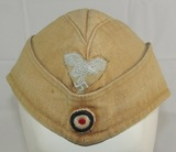 Early Luftwaffe Tropical Overseas Cap-1942 August Schellenberg