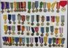 62pcs-Misc U.S. WW2-Vietnam-Later Miniature Formal Dress Medals