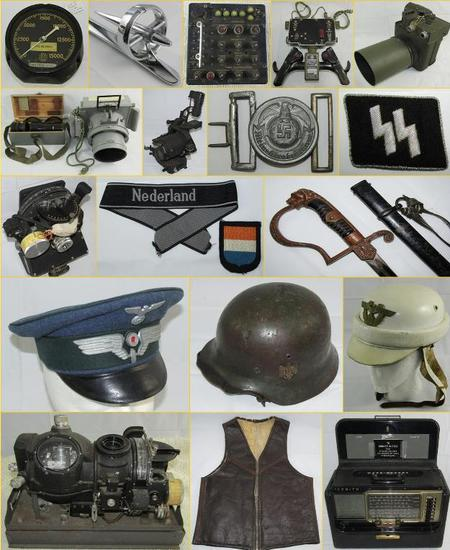 MILITARY COLLECTIBLES AUCTION Tues 12-11-2018 @5pm