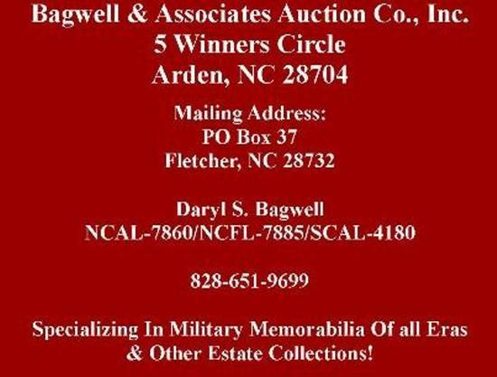 NEW AUCTION DATE & TIME--TUESDAY DEC. 11 @5PM EST