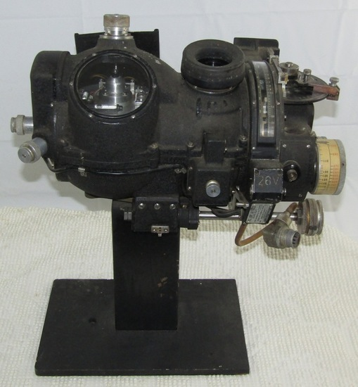 U.S. Army Air Forces Type M9 Norden Bombsight With Display Stand.