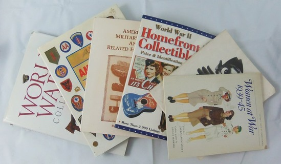 6 pcs. WW2 Women's Uniform/Collectibles Reference Books