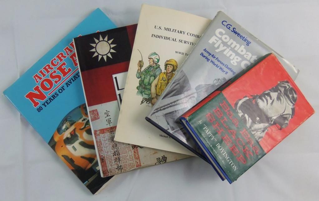 5 pcs. US Aviation/Blood Chit Reference Books