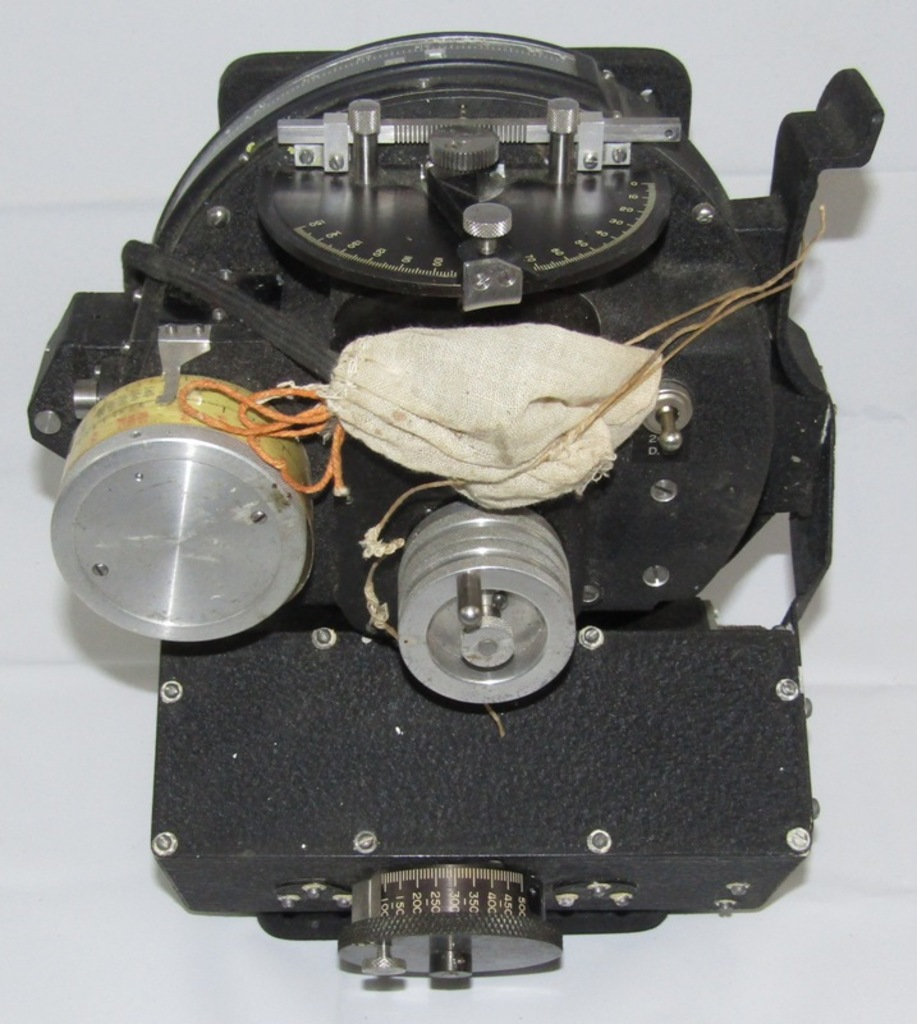 "Rare WW2 Norden Head Army Air Forces ""Rate End Computer"" W/CP-17/APA-46 Control Box"