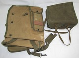 2pcs-Scarce Case For WW2 BG-173 Radio & USAAF Bombardier's Type E-2 Bag