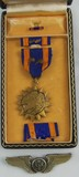 Named WW2 USAAF Medal/Wing Grouping