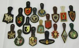 18pcs-Vietnam-Current French Army Regimental Badges