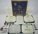 Named Vietnam War Soldier Medal Grouping With Award Documents