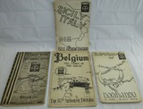 4pcs-Very Limited Printing Booklets-Marked Restricted Full Reports 82nd Airborne Combat Actions