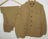 Scarce WW1 U.S. Army Air Forces Tunic & Pants For Enlisted-Rare Sleeve Patch