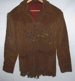 1970's Fringe Leather