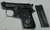 Beretta Model 950 B .22 Cal. Short Pocket Pistol