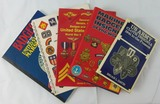 5 pcs. WWII and Later US Insignia/Badges Reference Books