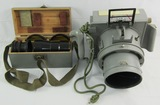 WW2 Japanese Army Aircraft Type 100 Aerial Camera W/Extra Lens/Case