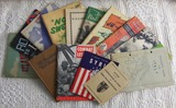14 pcs. Misc. Soldier Guide Books/Message Booklets