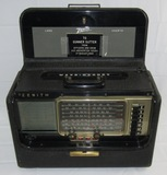 1950's Zenith L600 Trans-Oceanic Tube Radio Dedicated To USS Archerfish Crewman