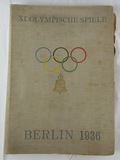 Rare 1936 Nazi Germany Olympics Daily Magazines In hard Cover Binding
