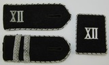 3pcs-WW2 TeNo Shoulder Boards/Collar Tab For Officer Rank