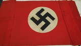 WWII NSDAP Party Banner/Flag-Double Sided