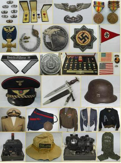 MILITARY COLLECTIBLES AUCTION SATURDAY 1-26-2019