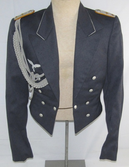 Scarce WW2 Luftwaffe Officer's Dress Jacket-Paratroops/Flight Officer