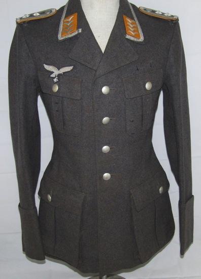 Luftwaffe Paratroops/Flight 4 Pocket Service Tunic For Oberfeldwebel