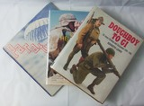 3pcs-WW2 Related Reference Books-Doughboy To GI-Paratrooper-U.S. Helmets Of 20th Century