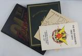 4pcs- US Military Unit History Books/Booklets