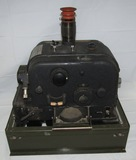 WW2 Sperry S-1 Bombsight Head With Rare M-2 Interim Conversion Paper Tangent Scale